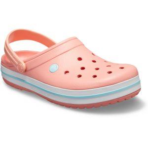 Crocs Crocband - Sandales - rose/turquoise 37-38 Sandales Loisir