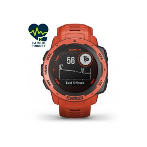 Garmin Instinct Solar Flame Red - Montre sport