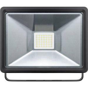 Goobay 44531 Projecteur LED extérieur 50 W blanc lumière du jour noir