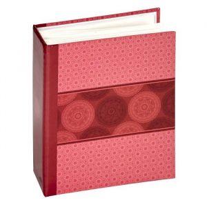 Panodia 271287 Mandala Album Photos Pochettes avec 100 Vues Papier Rose 5,5 x 14 x 16,5 cm