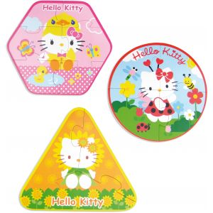 Vilac Puzzles évolutifs 3 en 1 Hello Kitty