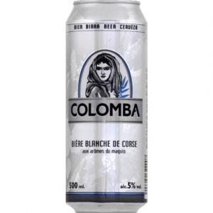 Colomba Bière blanche de corse - La boite de 500ml