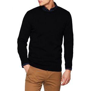 Jack & Jones Chandails Jack---jones Essential Basic Knitted - Black - M