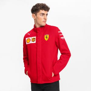Puma Scuderia Ferrari Herren Team Softshelljacke Veste Softshell, Rosso Corsa, S Homme