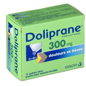 Sanofi Doliprane 300 mg - 12 Sachets (poudre)
