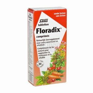 Salus Floradix Floradix Fer + Plantes 84 comprimés