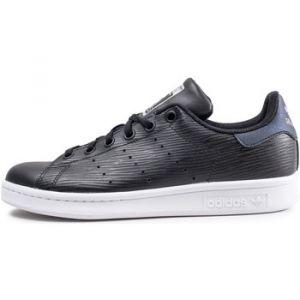 Adidas Stan Smith Noire Et Bleue Baskets/Tennis Enfant