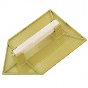 Taliaplast Taloche en ABS jaune pointue 20x13 cm
