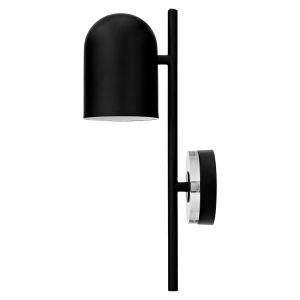 AYTM Applique LUCEO / Orientable - Métal & verre noir,transparent en métal