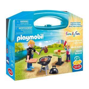 Playmobil 5649 - Mallette de barbecue