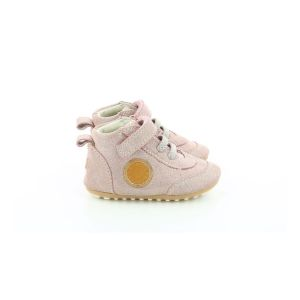 Robeez Milo, Sneakers Haute Fille, Rose, 23