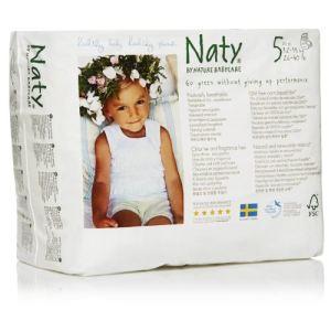 Naty Culotte d'apprentissage taille 5 Junior (12-18 kg) - paquet de 20