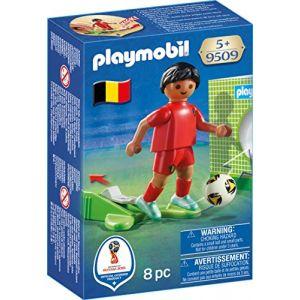 Playmobil 9509 - Coupe du Monde de la FIFA Russie 2018 - Joueur de foot Belge