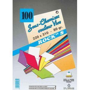 Rainex 100 sous-chemises Rocks's 80 g (22 x 31 cm)