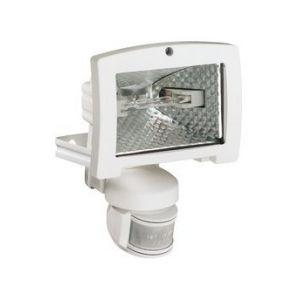 Hager Projecteur éco énergie 120W détect IR 140 blanc (52038)