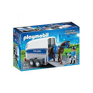 Playmobil 6875 City Action - Police à cheval
