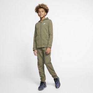 Nike Survêtement Sportswear pour Garçon plus âgé - Olive - Taille S