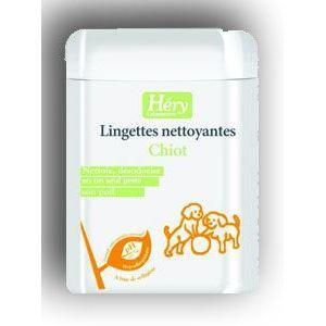 Image de Héry Laboratoires Lingettes nettoyantes pour chiot