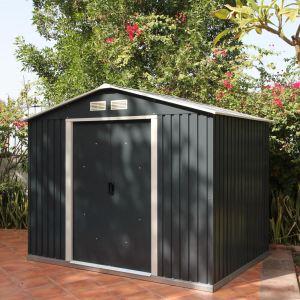Duramax Abri de jardin Titan en métal 4,75 m2
