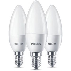 Philips Ampoule LED E14 929001157770 en forme de bougie 5.5 W = 40 W blanc chaud (Ø x L) 35 mm x 104 mm EEC: A+ 3 pc(s)