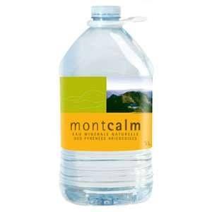 Montcalm Bouteille d'Eau Minérale 5 L