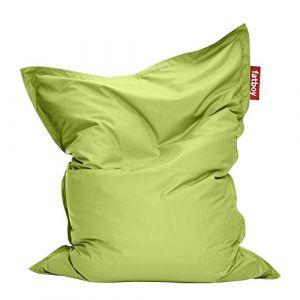 Fatboy Pouf The Original Outdoor / Pour l'extérieur Larg 140 cm x H 180 cm citron vert en tissu