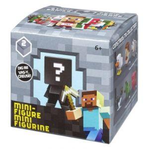 Mattel Boite Mystère figurine au hasard Minecraft Série 1