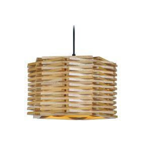 Miliboo Suspension design en bois PENTA
