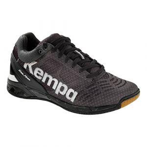 Kettler Kempa - Attack Midcut - Chaussures - Homme - Noir (Noir/Blanc) - 45.5