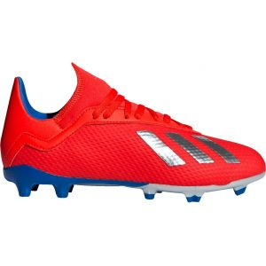 Adidas X 18.3 FG J, Chaussures de Football Mixte Enfant, Multicolore