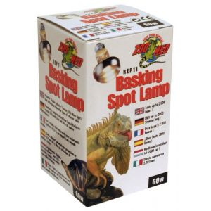 Zoo Med Basking Spot - Lampe pour reptile 60 W