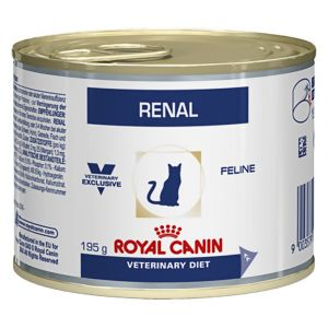 Royal Canin Veterinary Diet Cat Renal Poulet 12 x 195 grs