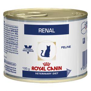 Image de Royal Canin Veterinary Diet Cat Renal Poulet 12 x 195 grs