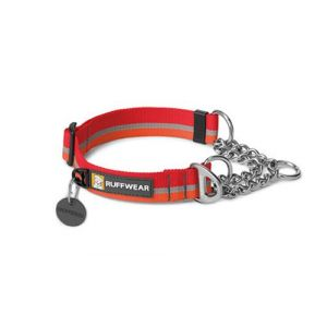 Ruffwear Collier Chain Reaction pour chien Rouge Taille L