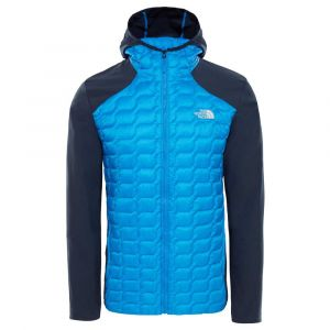 The North Face M New Thermoball Hybrid Hoodie Bomber Blue/Urban Navy Doudounes