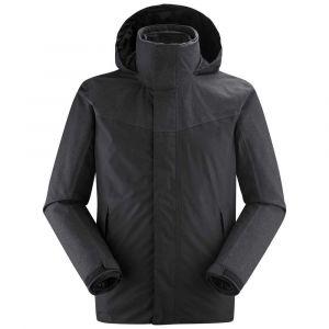 Lafuma Jaipur GTX 3In1 Fleece M Veste 3 en 1 Homme, Anthracite Grey, FR : S (Taille Fabricant : S)