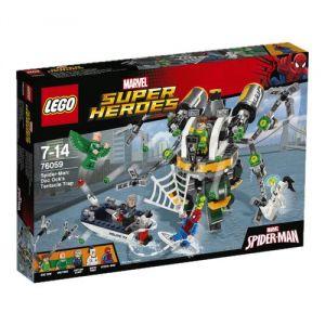 Lego 76059 - Super Heroes : Marvel Spider-Man : Le piège à tentacules de Doc Ock