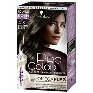 Schwarzkopf Pro Color Coloration Châtain Glacé 4.3