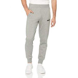 Puma Ess, Pantalon de jogging Homme, Medium Gris Heather, FR : 2XL (Taille Fabricant : XXL)