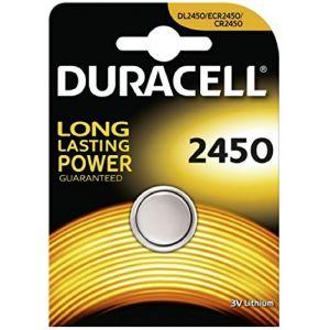 Duracell CR2450 Pile bouton au lithium, 3 V