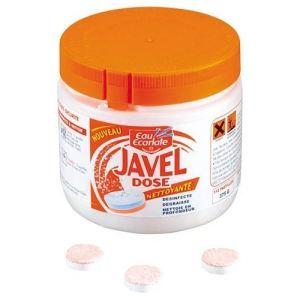 Eau ecarlate Boite de 112 patilles javel dose anticalcaire