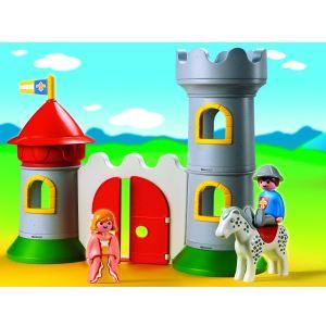 Playmobil 6771 - 1.2.3 : Château avec couple princier