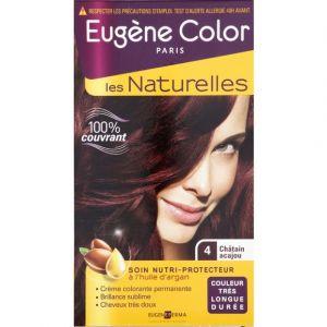 Eugène Color Coloration châtain acajou 4