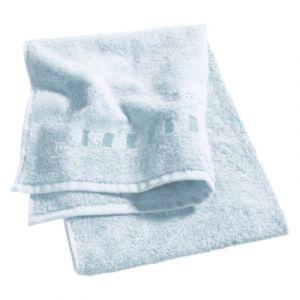 Esprit Lot 4 gants de toilette 16x21 cm uni bleu ciel