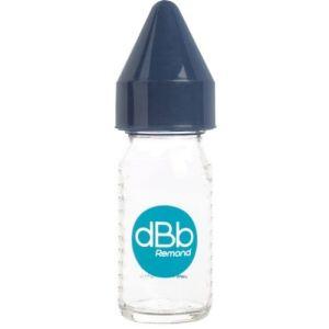 dBb Remond Biberon Jus de fruit Régul'air en verre avec tétine en caoutchouc