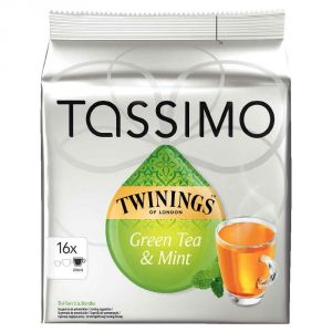 Tassimo 16 dosettes T-Discs thé Twinings vert