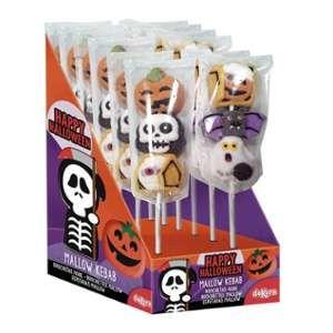 Brochette de marshmallow Halloween