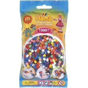Hama Sachet De 1000 Perles A Repasser Midi Couleurs Assorties - Loisirs Creatifs - 207-00