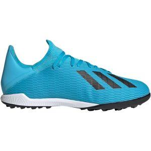 Adidas X 19 3 tf f35375 homme chaussures de foot turf bleu 40