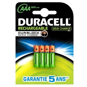 Duracell Rechargeable Accu AAA blister de 4